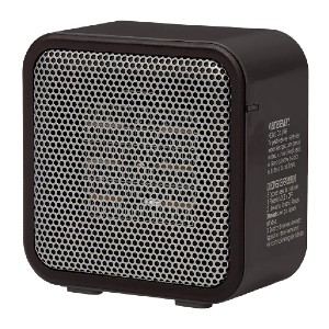 Amazon Basics Ceramic Small Space Personal Mini Heater - Best Space Heater Cheap: Safe simple personal heater