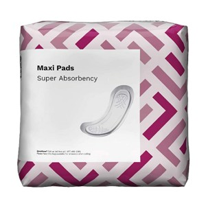 Solimo  Thick Maxi Pads for Periods - Best Organic Menstrual Pads:  Keeps smells at bay