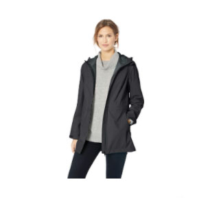Amazon Essentials Women's Waterproof Rain Jacket - Best Rain Jackets For Europe: Relaxed Fit and Matte Finish