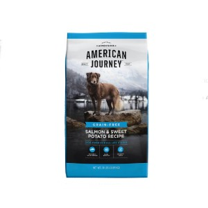 American Journey All Life Stages Salmon & Sweet Potato Recipe Grain-Free Dry Dog Food - Best Dog Foods Made in USA: Rich in Protein Food