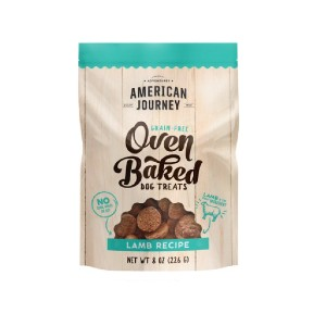 American Journey Lamb Recipe Grain-Free Oven Baked Crunchy Biscuit Dog Treats - Best Biscuits for Dogs: Portable Biscuit