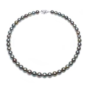 American Pearl Tahitian South Sea Necklace - Best Pearl Necklace: Magnificent Tahitian Pearl Necklace