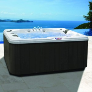 American Spas Hot Tub AM-534LS 3-Person - Best Three-Person Hot Tubs: Side By Side Seating Style Hot Tub