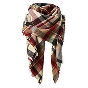American Trends\ Women's Fall Winter Scarf  - Best Scarves for Winter: Blanket or scarf? Both