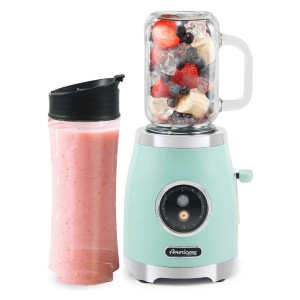 Americana EPB399M - Best Blender for Protein Shakes: Reusable and Dishwasher Safe