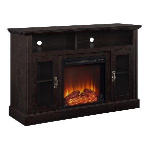 Ameriwood Home Chicago Electric Fireplace TV Console - Best Electric Fireplace TV Stand: Makes your room more livable