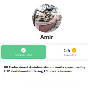 superprof Skateboarding Course by Amir - Best Online Skateboarding Lessons: Finding Your Skateboarding Style with Amir