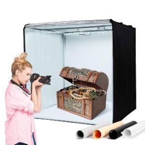 Amzdeal Light Box for Photography - Best Lightbox for Product Photography: Properly diffusing light