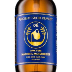 Ancient Greek Remedy Organic Blend of Olive, Lavender, Almond and Grapeseed oils with Vitamin E - Best Scalp Oil for Dandruff: Oil Hair Treatment