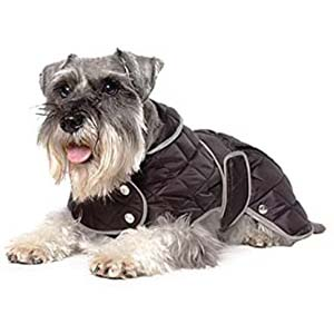 Ancol Muddy Paws Diamond Quilt Coat - Best Raincoats for Big Dogs: As warm as a hug