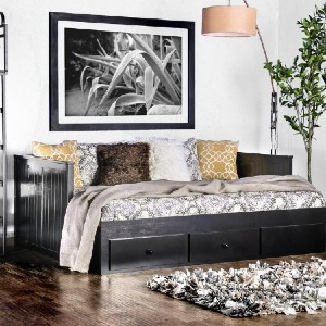 Andover Mills™ Potts Full Daybed - Best Full-Size Daybeds: Daybed with Drawers