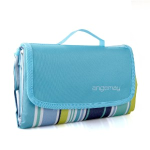 Angemay Outdoor & Picnic Blanket - Best Picnic Blanket Baby: Durable Thick and Comfort Skin Touch