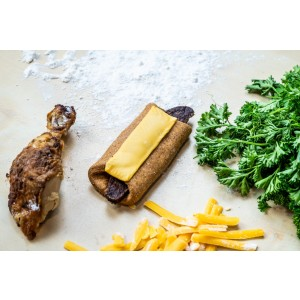 Annie's Pooch Pops Cheesy Chicken Wrap - Best Dog Foods to Buy: Delicious Food with Safe Ingredients