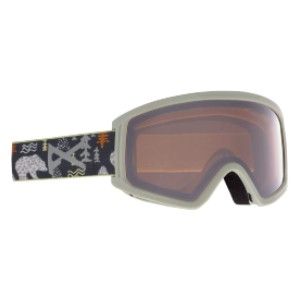 Anon Kid's Tracker 2.0 Goggle Asian Fit - Best Ski Goggles for Kids: Youth-Specific Frame Design
