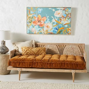 Anthropologie Carved Lovella Daybed - Best Daybeds for Small Spaces: Eastern Architecture Daybed