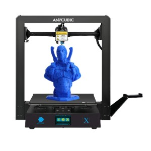 ANYCUBIC Mega X - Best 3D Printers for Cookie Cutters: Big Leveling Knob