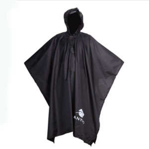 Anyoo Waterproof Rain Poncho - Best Raincoats for Festivals: Easy Movement Raincoat
