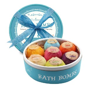 Aofmee Bath Bombs - Best Bath Bombs for Sensitive Skin: Cruelty-Free and Vegan-Friendly