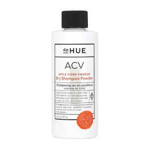 dpHUE Apple Cider Vinegar Dry Shampoo Powder - Best Dry Shampoo for Colored Hair: Easy-to-Apply and Non-Drying Powder Formula