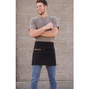 ApronMen Utility Barista Waist / Half Apron - Best Aprons for Men: Perfect for Barista