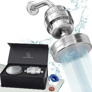 AquaHomeGroup Luxury Filtered Shower Head Set - Best Water Filter Shower Head: Feels like a high-end hotel