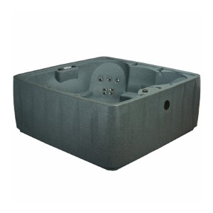 AquaRest Spas Elite 600 6-Person 29-Jet Plug and Play Hot Tub with Ozone and LED Waterfall - Best Six-Person Hot Tubs: Hot Tub with Therapeutic Lumbar Arch Support
