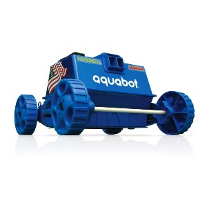 Aquabot Pool Rover Junior Robotic Above-Ground Pool Cleaner - Best Automatic Pool Cleaner Above Ground: Save-Energy Cleaner