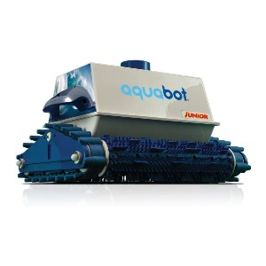 Aquabot Junior Automatic Robotic In Ground Pool Cleaner - Best Robotic Pool Cleaner for Leaves: For Tiled Pools