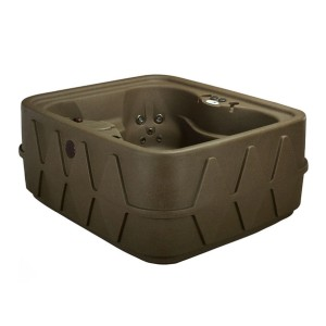AquaRest Spas 4-Person Spa - Best Four-Person Hot Tubs: Hot Tub with a Safety Lock Spa Cover