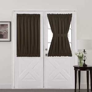 Aquazolax French Door Curtain - Best Curtain to Block Light: Wrinkle-Free Curtain