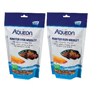 Aqueon Monster Fish Medley - Best Food for Clownfish: Simple Meal Pouch