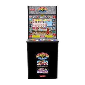 Arcade1Up Classic 3-in-1 Home Arcade - Best Multi Game Arcade Machine: Official Licensed Cabinet Design