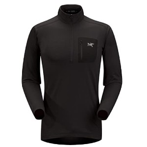 Arc'teryx Store Rho LT Zip Neck Men's - Best Base Layers for Hiking: Breathable Base Layer