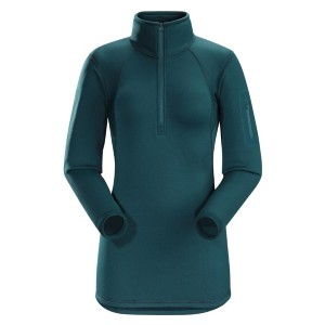 Arc'teryx Store Rho AR Zip-Neck Long Underwear Top - Best Base Layers for Hiking: Moisture-Wicking Base Layer