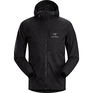 Arc'teryx Store Squamish Hooded Jacket - Men's - Best Jacket for Wind: Windbreaker and water-repellent jacket