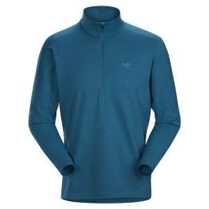 Arc'teryx Store MOTUS AR ZIP NECK LS MEN'S - Best Base Layers for Extreme Cold: Base Layer with Moisture Management