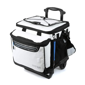 Arctic Zone Titan Deep Freeze 60 - Best Wheeled Coolers for the Beach: Collapsible!