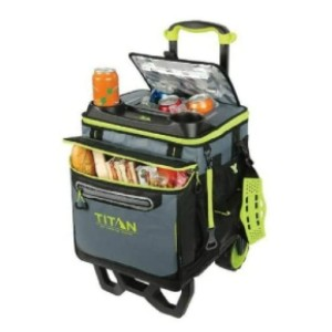 Arctic Zone Titan Deep Freeze Rolling Cooler - Best Wheeled Coolers for the Beach: Great for mid-size beach parties