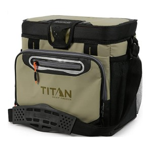 Arctic Zone Titan Deep Freeze Cooler  - Best Lunch Cooler for Construction Workers: Separate your food neatly