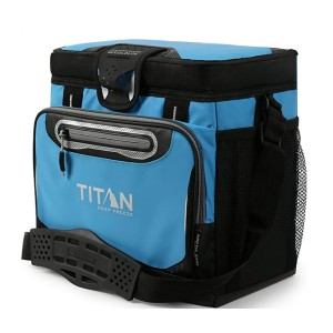 Arctic Zone Titan Deep Freeze Zipperless Cooler  - Best Lunch Cooler for Work: Removable plastic divider