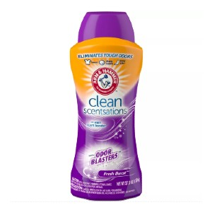 ARM & HAMMER Clean Scentsations In-Wash Scent Booster w/ Odor Blaster - Best Laundry Detergents to Remove Odors: Long-Lasting Smell