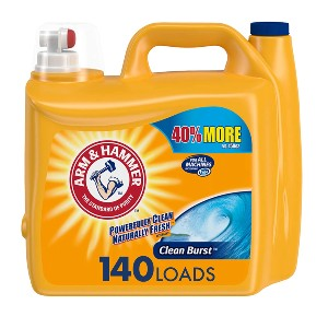 ARM & HAMMER Liquid Laundry Detergent - Best Laundry Detergents for Grease and Oil: Versatile Detergent