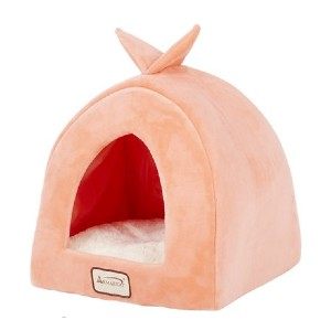 Armarkat Cave Shape Covered Cat & Dog Bed - Best Cat Beds for Kittens: Adorable little cave
