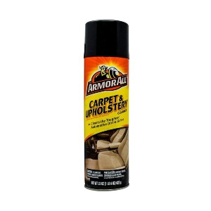 Armor All Car Carpet & Fabric Spray Bottle - Best Cleaning Solution for Car Interior: Penetrates Deep Into Fabric and Carpet Fibers