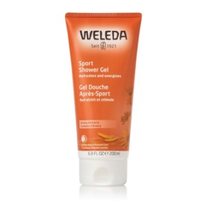 Weleda Arnica Sports Shower Gel - Best Shower Gel for Women: Stimulating Freshness in a Light, Transparent Gel