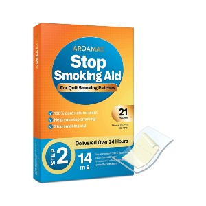 Aroamas Quit Smoking Aid - Best Nicotine Patches: Designed to Give You 24 Hours of Support