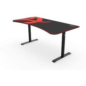 Arozzi Arena Gaming Desk  - Best Standing Desk for Gaming: Four Balancing Knobs Feature