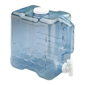 Arrow Home Products 2 Gallon Slimline Beverage Container in Clear - Best 2 Gallon Water Jugs: Convenient Water Jug