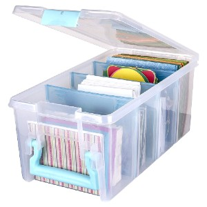 ArtBin 6925AA Semi Satchel  - Best Photo Storage Boxes with Dividers: Can hold bulky items