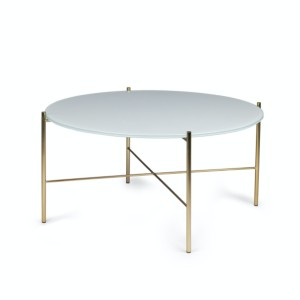 Article Silicus Light Gray Round Coffee Table - Best Coffee Table for Sectional: Elegant Coffee Table